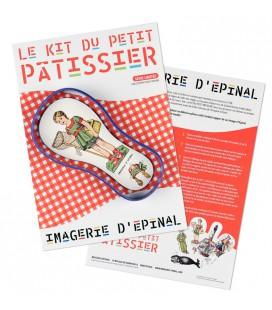 Le kit du petit pâtissier (moule bleu)