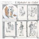"""Image """"Alphabet du Calfat"""" Série Marine"""