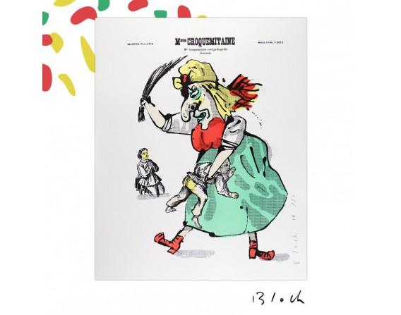 Image Madame Croquemitaine Grand Format sans encadrement