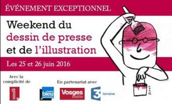 WEEK-END DU DESSIN DE PRESSE ET DE L'ILLUSTRATION