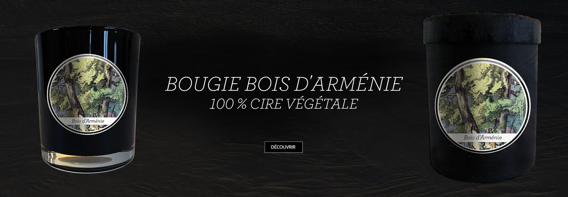 """BOUGIE PARFUMÉE """"BOIS D'ARMÉNIE"""""""